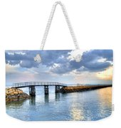 Plymouth Sunset Weekender Tote Bag