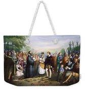 Pocahontas & John Rolfe Weekender Tote Bag