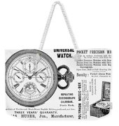 Pocket Watch, 1897 Weekender Tote Bag
