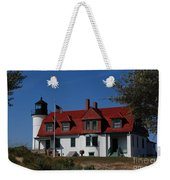 Point Betsie Light Station Weekender Tote Bag
