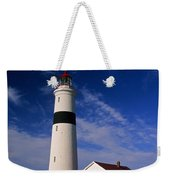 Point Lamour Lighthouse Weekender Tote Bag