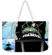 Point Loma Lighthouse Lens Weekender Tote Bag