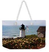 Point Montara Lighthouse Vista Weekender Tote Bag