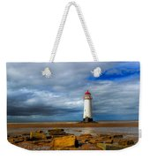 Point Of Ayr Beach Weekender Tote Bag by Adrian Evans
