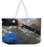 Point Of View White Water Kayaking Weekender Tote Bag
