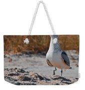 Poised Seagull Weekender Tote Bag