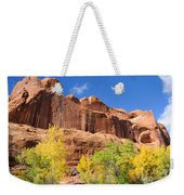 Poison Spider Mesa In The Fall Weekender Tote Bag by Gary Whitton
