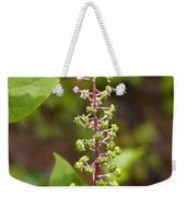 Poke Sallet Blossom Spire - Phytolacca Acinosa  Weekender Tote Bag