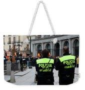 Policia Madrid Weekender Tote Bag