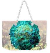 Polio Virus Particle Or Virion Poliovirus 1 Weekender Tote Bag by Russell Kightley