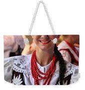 Polish Folk Dancing Girl Weekender Tote Bag