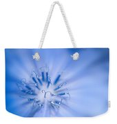 Pollination  Blue Chicory Weekender Tote Bag