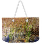 Pond And Rushes Weekender Tote Bag