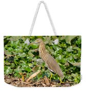 Pond Heron Weekender Tote Bag