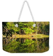 Pond Reflection Guatemala Weekender Tote Bag
