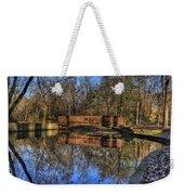 Pond Reflections Weekender Tote Bag