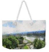 Pont De St Benezet - Avignon Weekender Tote Bag