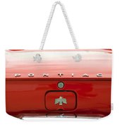 Pontiac Firebird Emblem Weekender Tote Bag