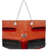 Pontiac Firebird Grille Weekender Tote Bag