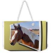 Pony Posing Weekender Tote Bag