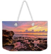 Pool Clouds Weekender Tote Bag