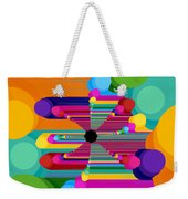 Pop Flower Weekender Tote Bag