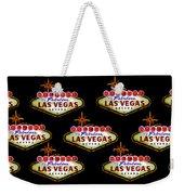 Pop Vegas Weekender Tote Bag