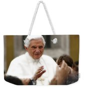 Pope Benedict Xvi Weekender Tote Bag