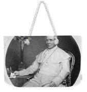Pope Pius Ix (1792-1878) Weekender Tote Bag