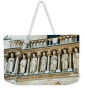 Popes At Notre Dame Cathedral Weekender Tote Bag