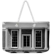 Poplar Forest South Portico Bw Weekender Tote Bag