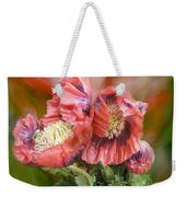 Poppies Big And Bold Weekender Tote Bag