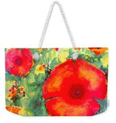 Poppies Face To The Sun Weekender Tote Bag