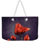 Poppies Fun 02b Weekender Tote Bag