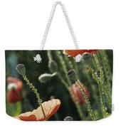 Poppies In A Field In Provence Weekender Tote Bag