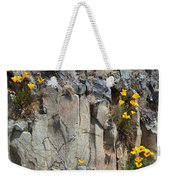 Poppies On The Cliff Weekender Tote Bag