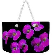 Poppin Pink Petals Weekender Tote Bag