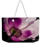 Poppy Detail 1 Weekender Tote Bag