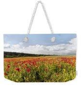 Poppy Field II Weekender Tote Bag