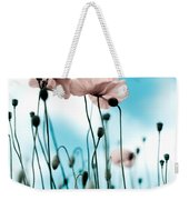 Poppy Flowers 09 Weekender Tote Bag by Nailia Schwarz