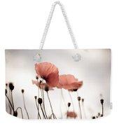 Poppy Flowers 16 Weekender Tote Bag by Nailia Schwarz