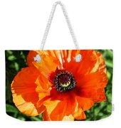 Poppy Blossom Weekender Tote Bag