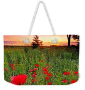 Poppy Patch And Previsualization Weekender Tote Bag