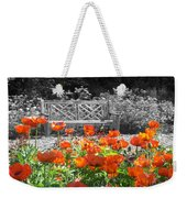 Poppy Seed Bench Weekender Tote Bag