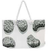 Poppy Seeds Engraving-1665 Weekender Tote Bag