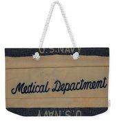 Pops W W I I Navy Blanket Weekender Tote Bag
