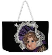 Porcelain Doll - Head And Bonnet Weekender Tote Bag