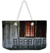 Porch Of The Bolduc House Museum Weekender Tote Bag