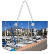 Port In Marbella Weekender Tote Bag