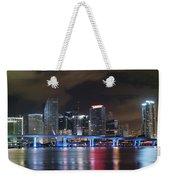 Port Of Miami Downtown Weekender Tote Bag